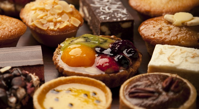 Muffins, Tarts & Slices